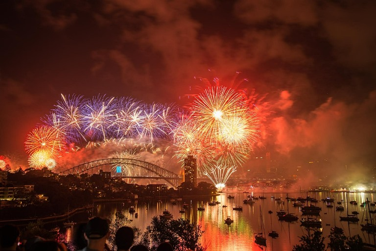 Nouvel an Sydney